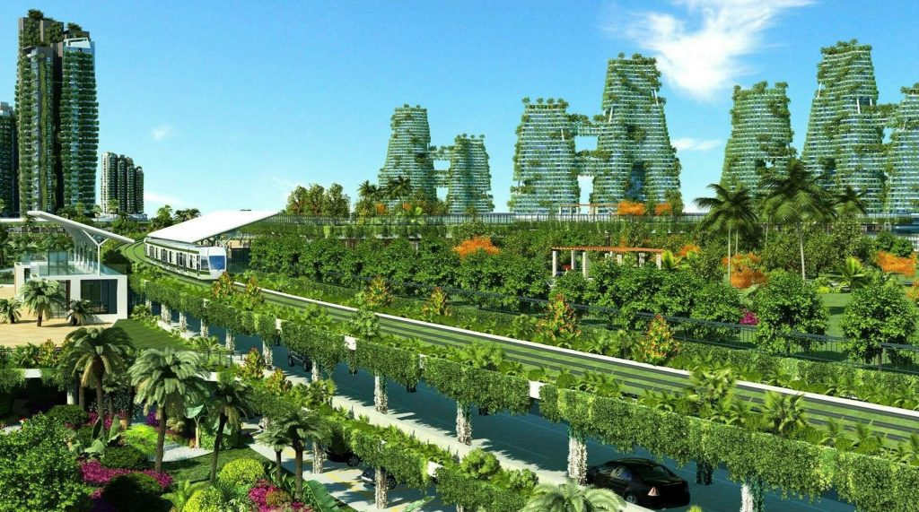 THÀNH PHỐ RỪNG FOREST CITY MALAYSIA