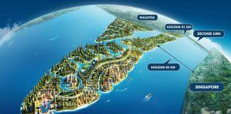 dự án Forest city malaysia. bán căn hộ biệt thự villa