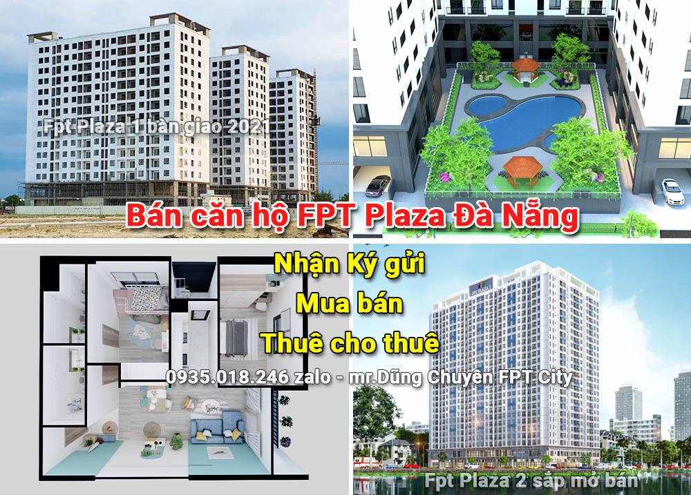 Bán căn hộ Fpt Plaza Đà Nẵng – BĐS Thành Tín [Chuyên Fpt City]